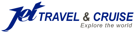 Jet Travel and Cruise Retina Logo